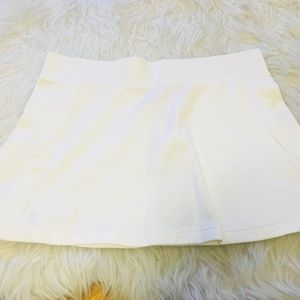 New Polo by Ralph Lauren white tennis mini skirt S